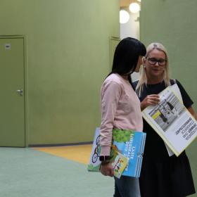 Harjumaa hariduse infopäev 15. august 2018 Laagri Koolis