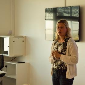 Maanteeameti ennetustöö osakonna ekspert Eve-Mai Valdna
